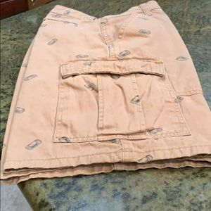 Men's Wrangler Can Print Cargo Shorts Tech Pocket
